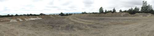 Panoramic view over Pegwell