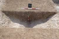 Ring ditch - Segment 1 north facing section