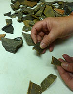 Sorting the sherds of Roman roughcast beaker pottery