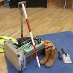 Equipment needed by archaeologists