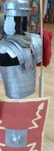 Our Roman armour in use again at Westgate