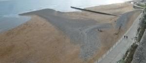 Shingle bank east of Ramsgate harbour