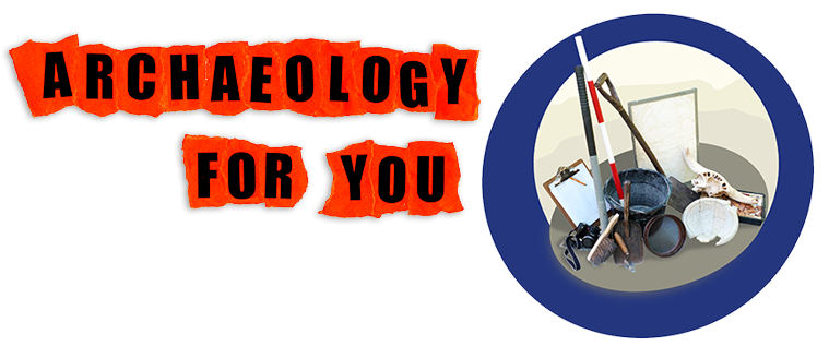 Logo for Archaeology for You