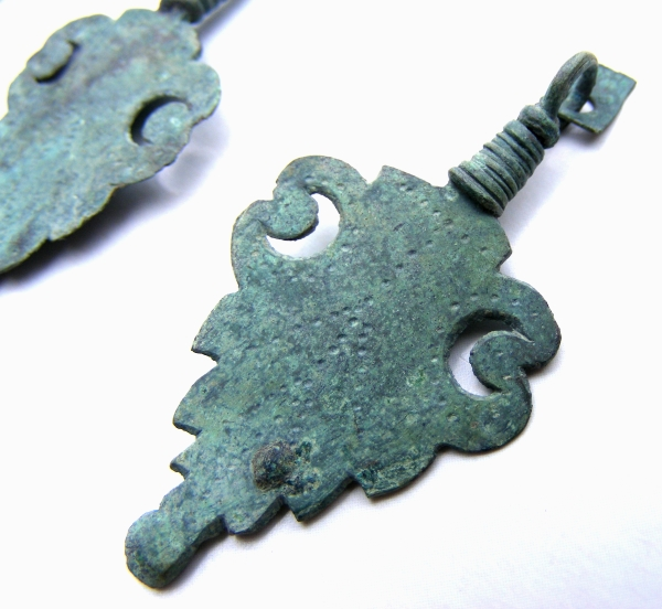 Roman copper alloy pendants