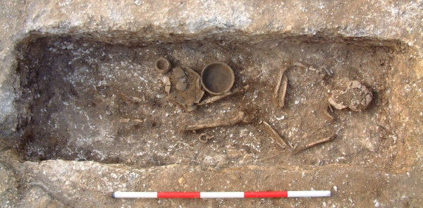 Roman burial found on Ramsgate's West Cliff